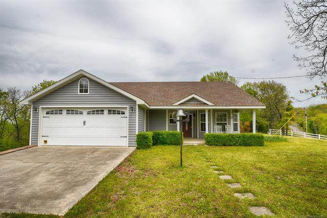1234 S 4545 Road, Vian, OK 74962 (MLS #2110713) :: Active Real Estate