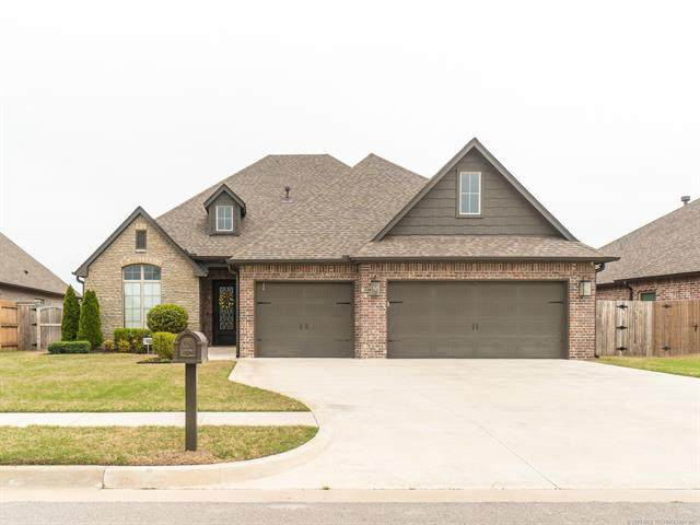 12545 S 73rd East Place, Bixby, OK 74008 (MLS #2110996) :: Hopper Group at RE/MAX Results