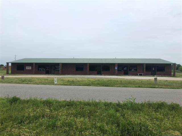 101 S Fair Barn Road, Coalgate, OK 74538 (MLS #2111136) :: Active Real Estate