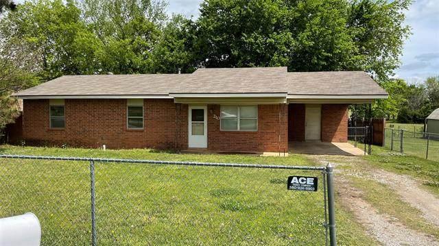 210 Umstead, Colbert, OK 74733 (MLS #2111212) :: Active Real Estate