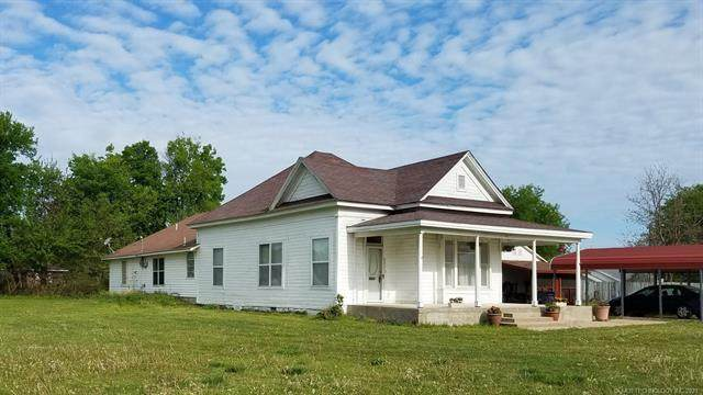 201 N Hayden Street, Chouteau, OK 74337 (MLS #2111322) :: Hopper Group at RE/MAX Results