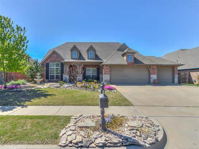 1912 E 133rd Court, Bixby, OK 74008 (MLS #2111407) :: Hopper Group at RE/MAX Results