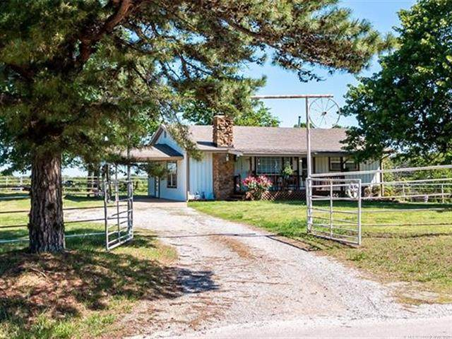 19913 E 410 Road, Claremore, OK 74017 (MLS #2112574) :: Active Real Estate