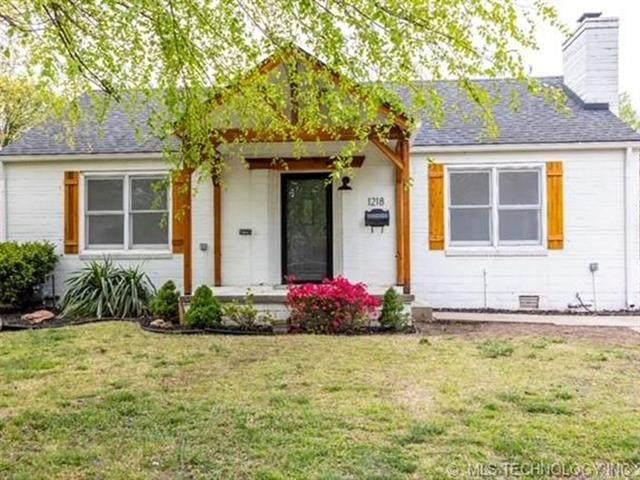1218 S Marion Avenue, Tulsa, OK 74112 (MLS #2113180) :: 918HomeTeam - KW Realty Preferred