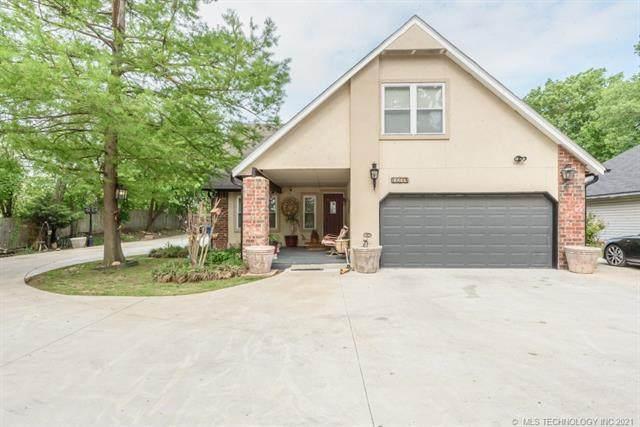 11114 E 68th Street B, Tulsa, OK 74133 (MLS #2114759) :: Owasso Homes and Lifestyle