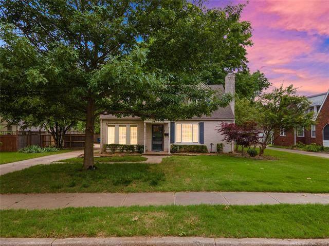 1242 S Columbia Avenue, Tulsa, OK 74104 (MLS #2115806) :: 580 Realty
