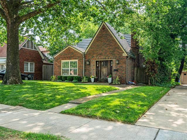 1524 S Gary Place, Tulsa, OK 74104 (MLS #2118381) :: 580 Realty