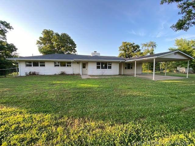 21059 Highway 80, Fort Gibson, OK 74434 (MLS #2118461) :: 580 Realty