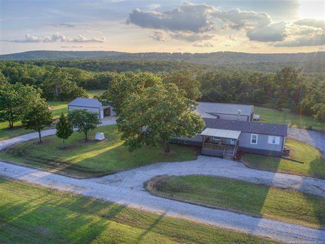 160 New Prue Road, Osage, OK 74054 (MLS #2118890) :: Owasso Homes and Lifestyle
