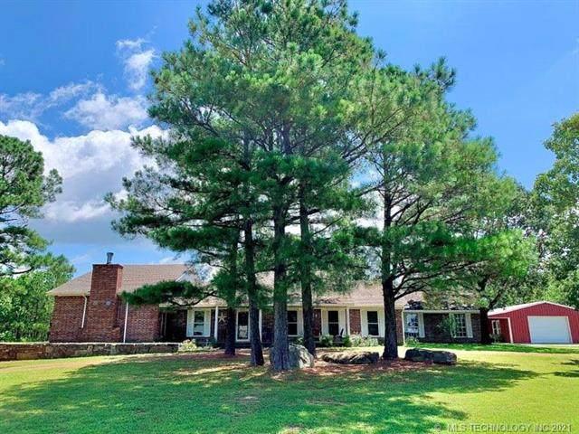 30150 S County Road 4430, Stigler, OK 74462 (MLS #2120267) :: Active Real Estate