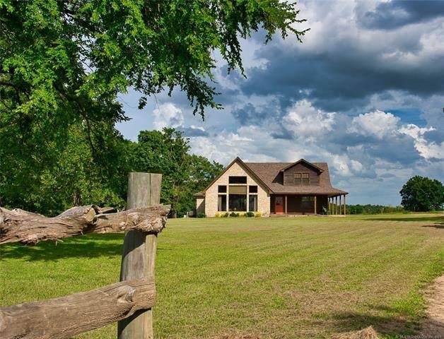8667 W Hardwood Road, Atoka, OK 74525 (MLS #2120702) :: Owasso Homes and Lifestyle