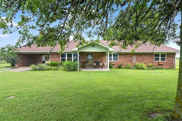 13320 N 310th Road, Morris, OK 74445 (MLS #2121565) :: 580 Realty