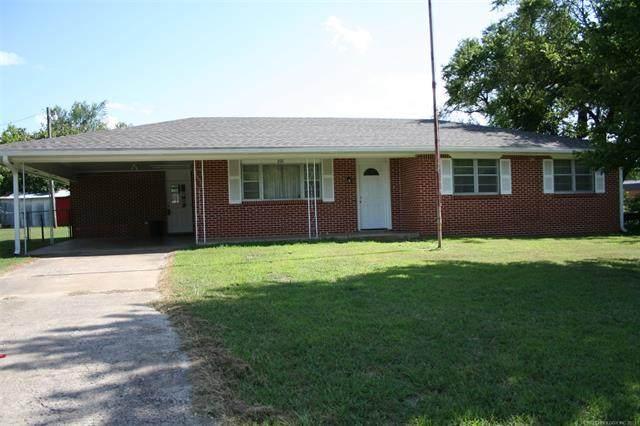 221 E Pontotoc, Roff, OK 74865 (MLS #2124400) :: Active Real Estate