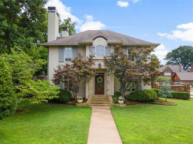 1102 E 24th Place, Tulsa, OK 74114 (MLS #2126729) :: Active Real Estate
