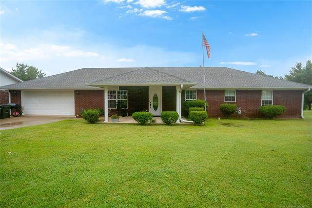 1720 Lakeview Drive, Sulphur, OK 73086 (MLS #2127737) :: Hopper Group at RE/MAX Results