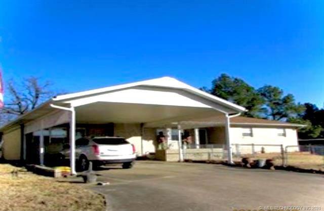 400 Woodland, Eufaula, OK 74432 (MLS #2129462) :: Owasso Homes and Lifestyle