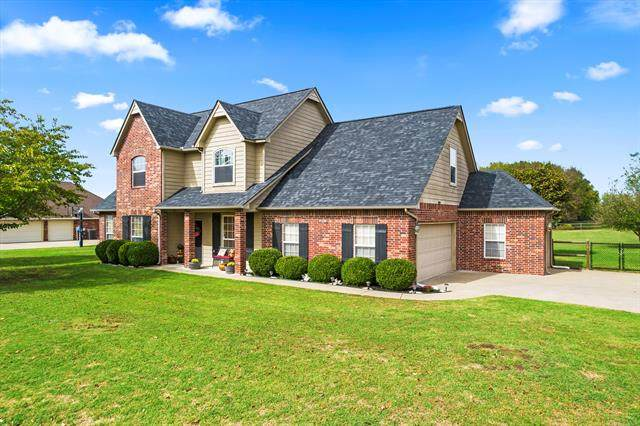 18411 E 79th Street N, Owasso, OK 74055 (MLS #2135391) :: Active Real Estate
