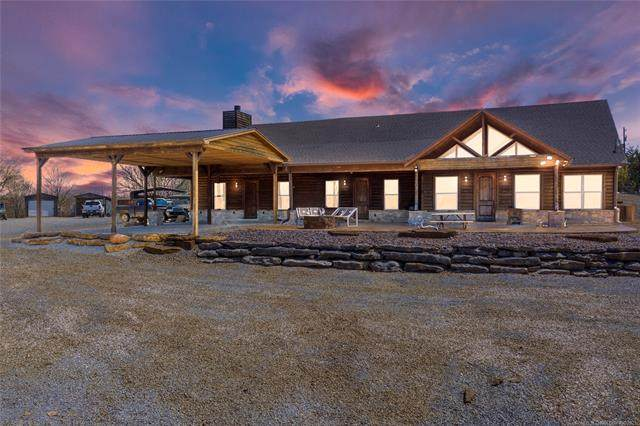 50993 S 142nd Road, Drumright, OK 74030 (MLS #2136261) :: Active Real Estate