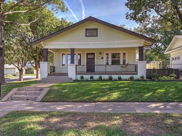 1203 S Lewis Place, Tulsa, OK 74104 (MLS #2136730) :: 918HomeTeam - KW Realty Preferred