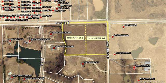 13116 S Lewis Avenue, Bixby, OK 74008 (MLS #2136741) :: The Gardner Real Estate Team