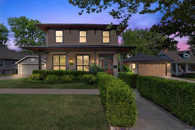 615 N Cheyenne Avenue, Tulsa, OK 74106 (MLS #2027961) :: 580 Realty