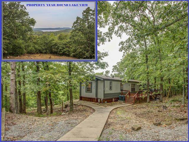 23588 E Riverview Drive, Cookson, OK 74427 (MLS #2033231) :: Hometown Home & Ranch
