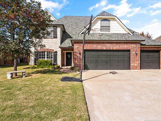 3151 E 145th Street, Bixby, OK 74008 (MLS #2037746) :: RE/MAX T-town