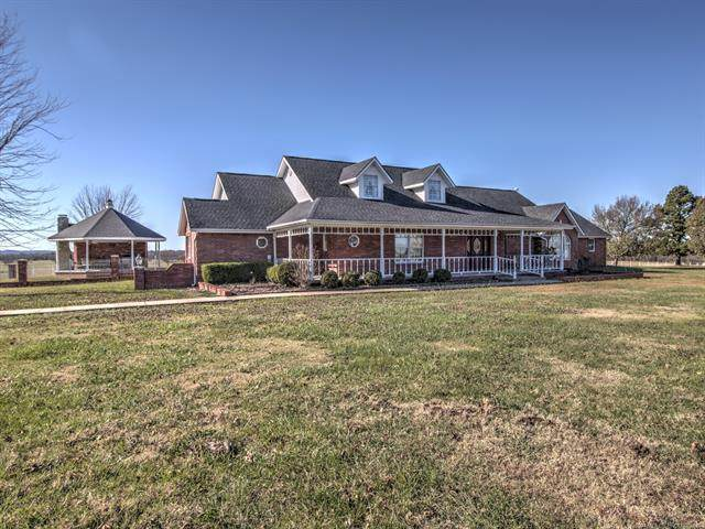 2151 N 432, Pryor, OK 74361 (MLS #2040001) :: Active Real Estate