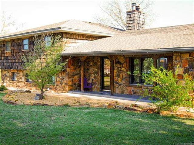 31983 Meadow Lane, Mannford, OK 74044 (MLS #2110133) :: Active Real Estate