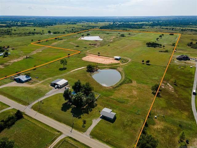 1202 S Oak Grove Road, Cushing, OK 74023 (MLS #2129719) :: Active Real Estate
