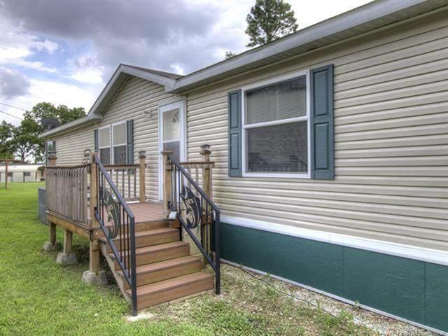 67 Rock Creek 10 Road, Big Cabin, OK 74332 (MLS #2016412) :: RE/MAX T-town