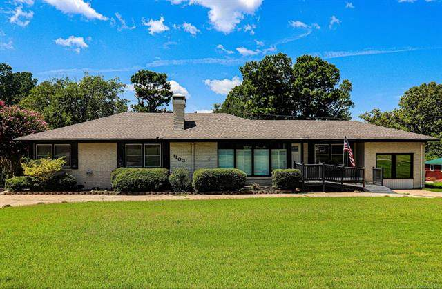 1103 Country Club, Mcalester, OK 74501 (MLS #2029700) :: Active Real Estate