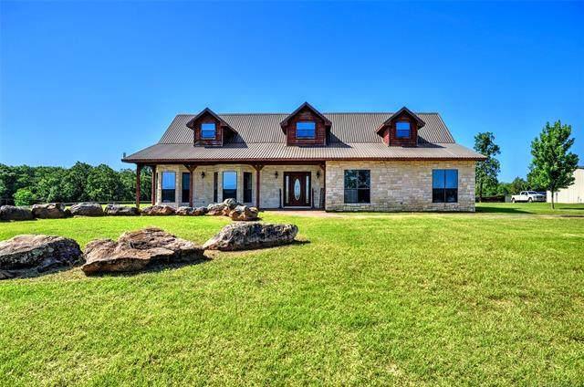 6153 Smiser, Calera, OK 74730 (MLS #2116807) :: Active Real Estate