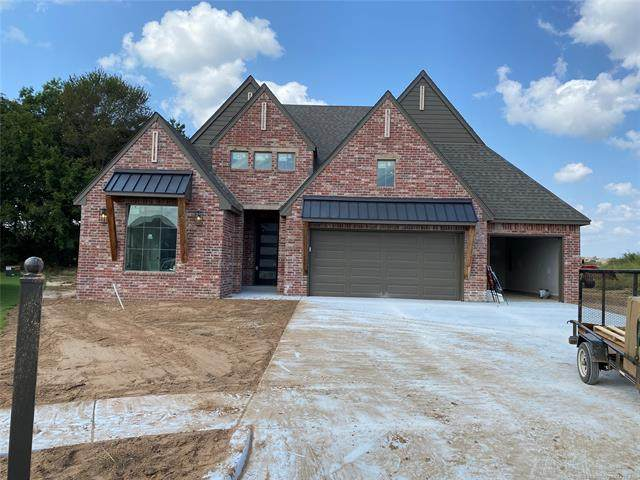 13824 S 21st Street East, Jenks, OK 74037 (MLS #2012156) :: Hopper Group at RE/MAX Results