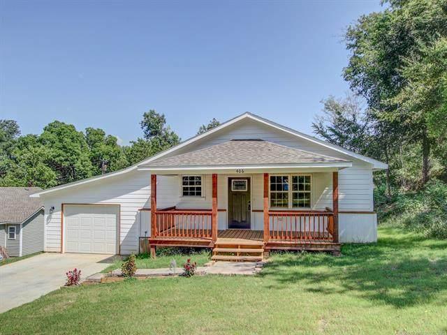 406 Beauregard Street, Fort Gibson, OK 74434 (MLS #2121469) :: Hopper Group at RE/MAX Results