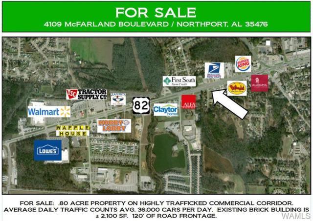 4109 Mcfarland Boulevard, NORTHPORT, AL 35476 (MLS #132017) :: The Alice Maxwell Team