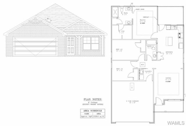 6453 Cooperstown Cir Lot 87, COTTONDALE, AL 35453 (MLS #133252) :: The Advantage Realty Group