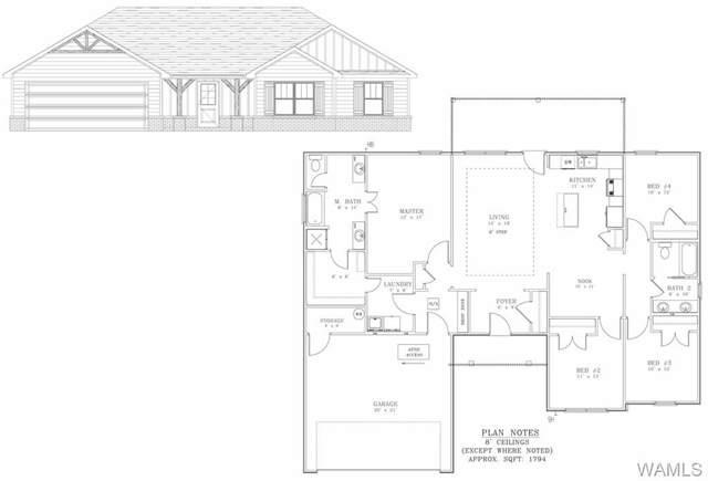 6910 Buttermilk Rd #1, COTTONDALE, AL 35453 (MLS #135320) :: Hamner Real Estate