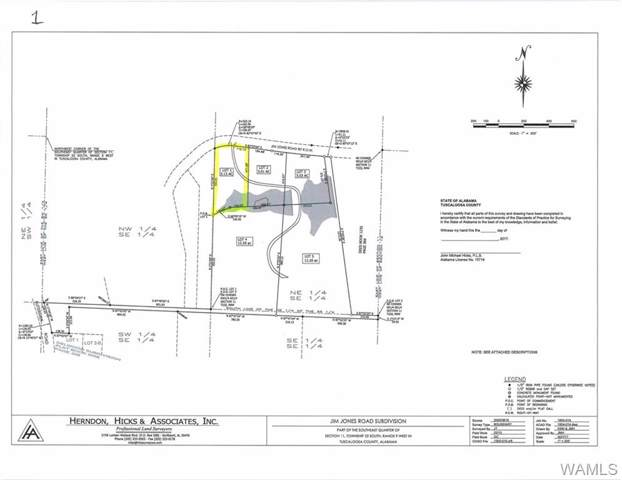 Lot 1 Jim Jones Road, COTTONDALE, AL 35453 (MLS #135846) :: The Gray Group at Keller Williams Realty Tuscaloosa