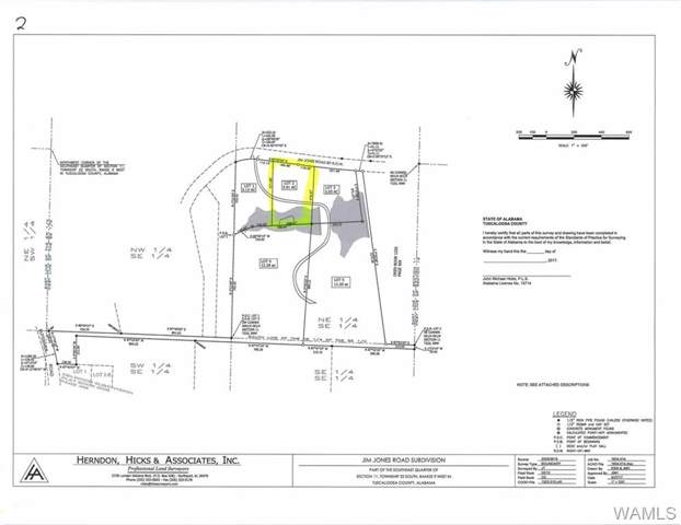 Lot 2 Jim Jones Road, COTTONDALE, AL 35453 (MLS #135848) :: Hamner Real Estate