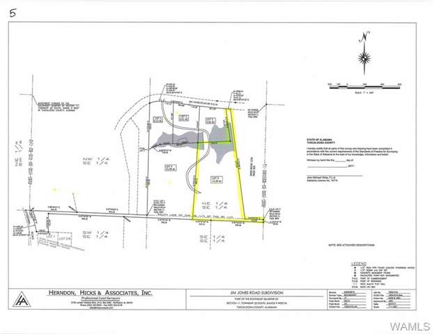 Lot 5 Jim Jones Road, COTTONDALE, AL 35453 (MLS #135851) :: The Gray Group at Keller Williams Realty Tuscaloosa