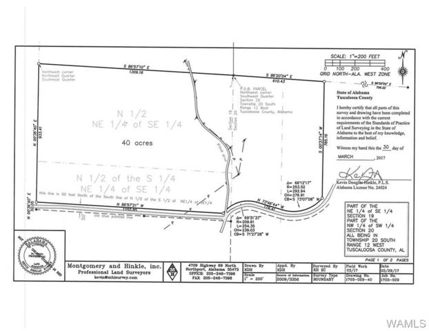 01 Lee Bonner Road, NORTHPORT, AL 35457 (MLS #126072) :: The Advantage Realty Group