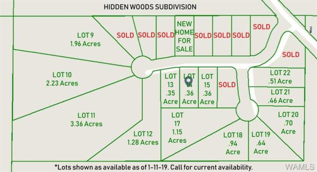 00 Hidden Woods Lane, TUSCALOOSA, AL 35405 (MLS #131230) :: Hamner Real Estate