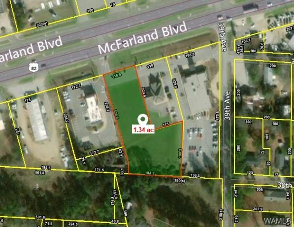 00 Mcfarland Boulevard, NORTHPORT, AL 35476 (MLS #128573) :: The Advantage Realty Group