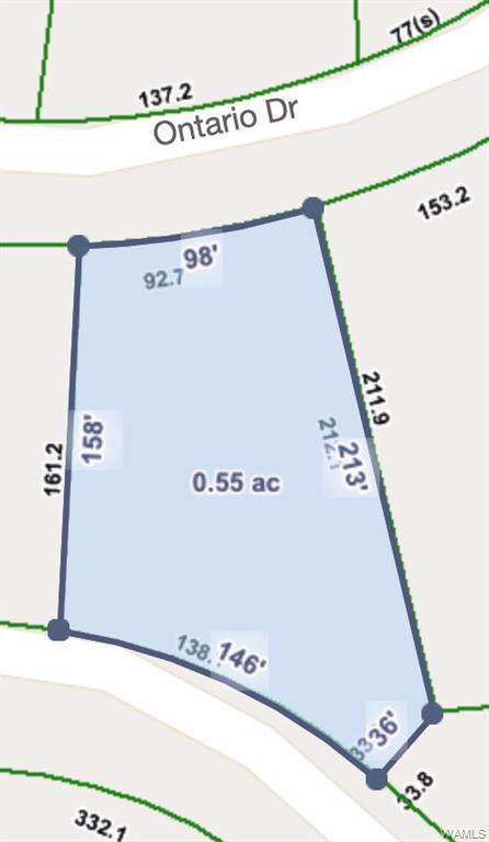 Lot 11 Ontario Drive, NORTHPORT, AL 35473 (MLS #135434) :: The Advantage Realty Group