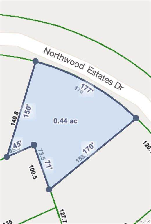 Lot 102 Northwood Estates Drive, NORTHPORT, AL 35473 (MLS #135442) :: The Gray Group at Keller Williams Realty Tuscaloosa