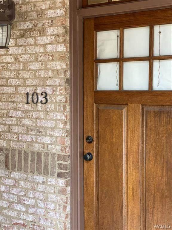 820 Frank Thomas Ave Unit 103 Unit 103, TUSCALOOSA, AL 35401 (MLS #139229) :: The K|W Group