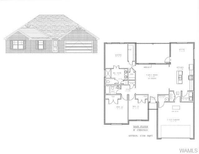6851 Wrigley Way Lot 25, COTTONDALE, AL 35453 (MLS #134530) :: The Advantage Realty Group