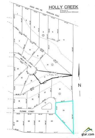 Lot 19 Holly Creek Addition, Mt Pleasant, TX 75455 (MLS #10075507) :: RE/MAX Professionals - The Burks Team