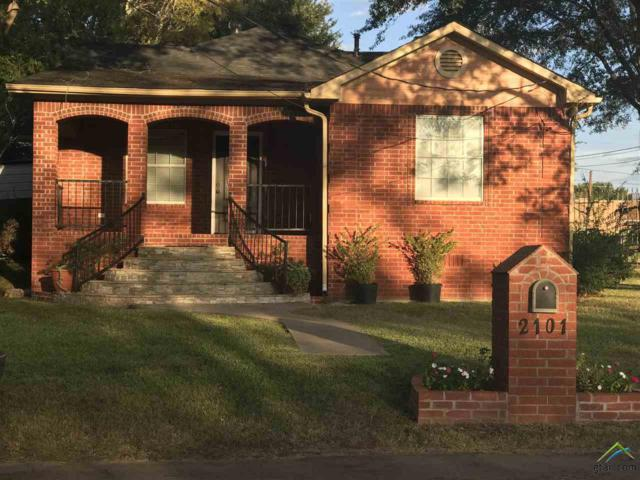 2101 N Ramey Ave, Tyler, TX 75702 (MLS #10087642) :: The Wampler Wolf Team